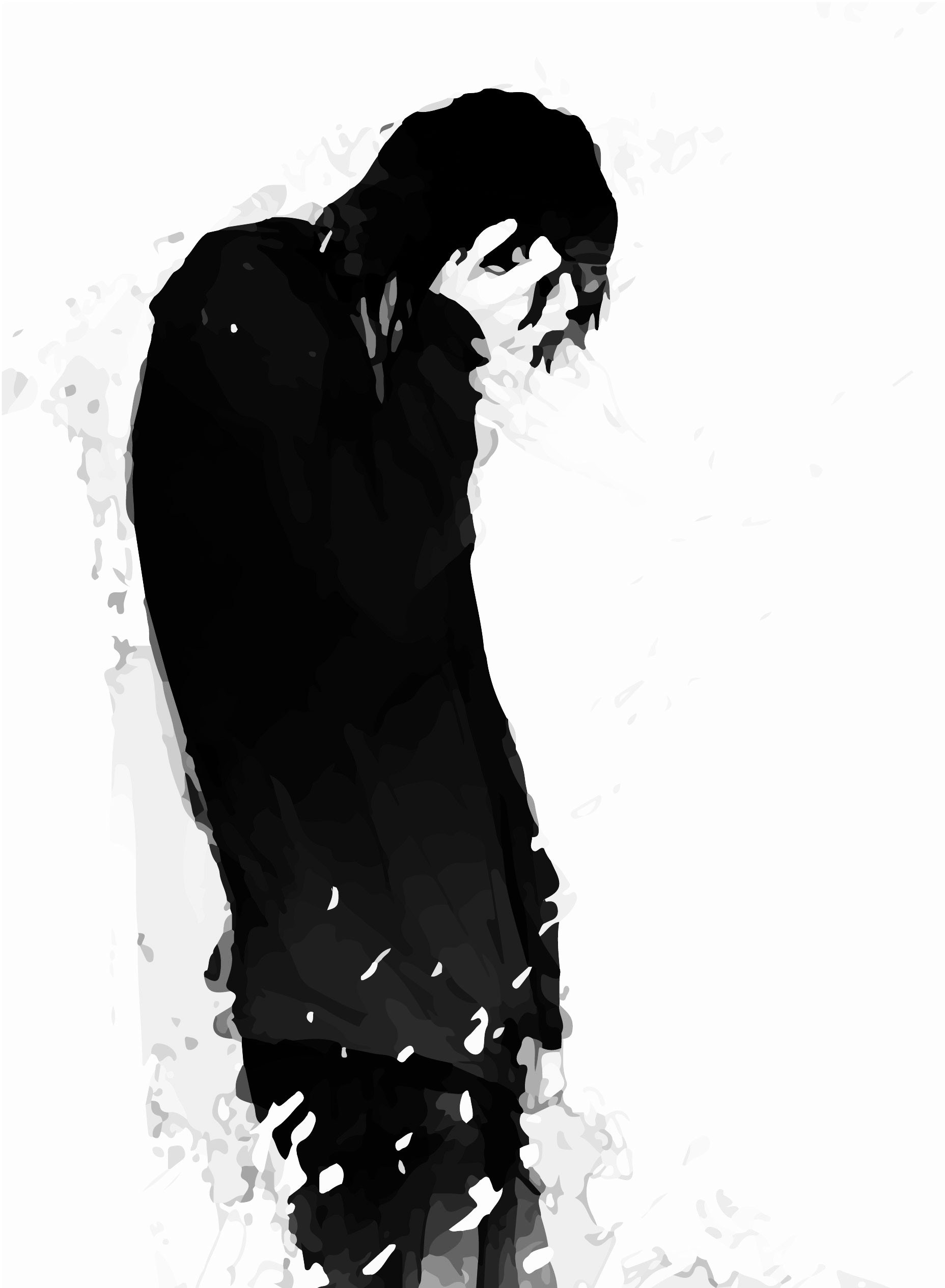 Sad Anime Boy Wallpaper ① Tall Anime Boy Black Hair