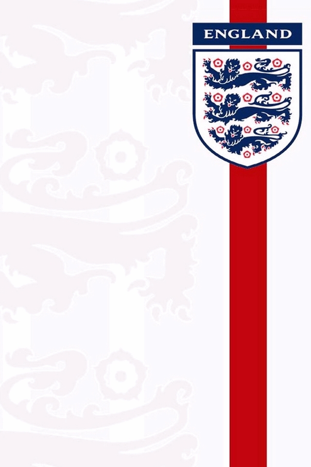 England Shirt Badge Iphone Wallpaper England Football Team