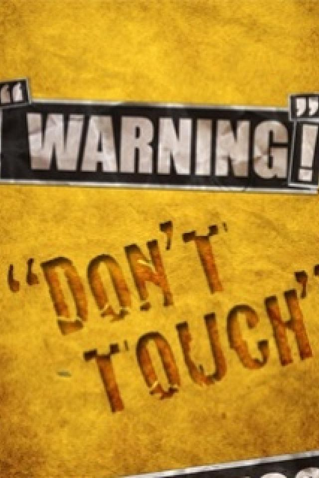 Download Wallpaper Dont Touch My Phone - Dont Touch The Phone , HD Wallpaper & Backgrounds