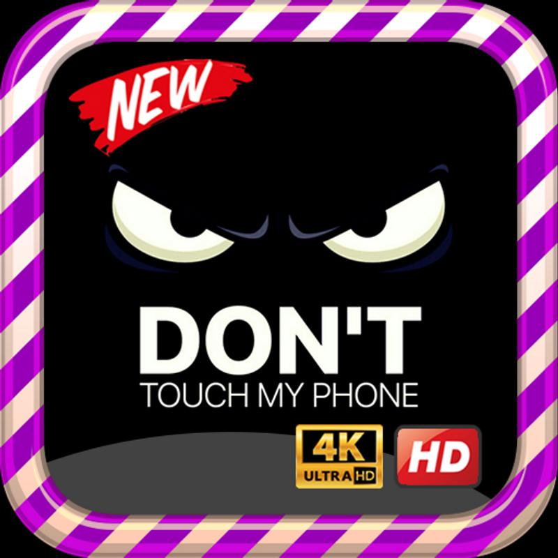 Don't Touch My Phone Wallpaper 3d Live For Android - Hp Android Wallpaper Hp , HD Wallpaper & Backgrounds