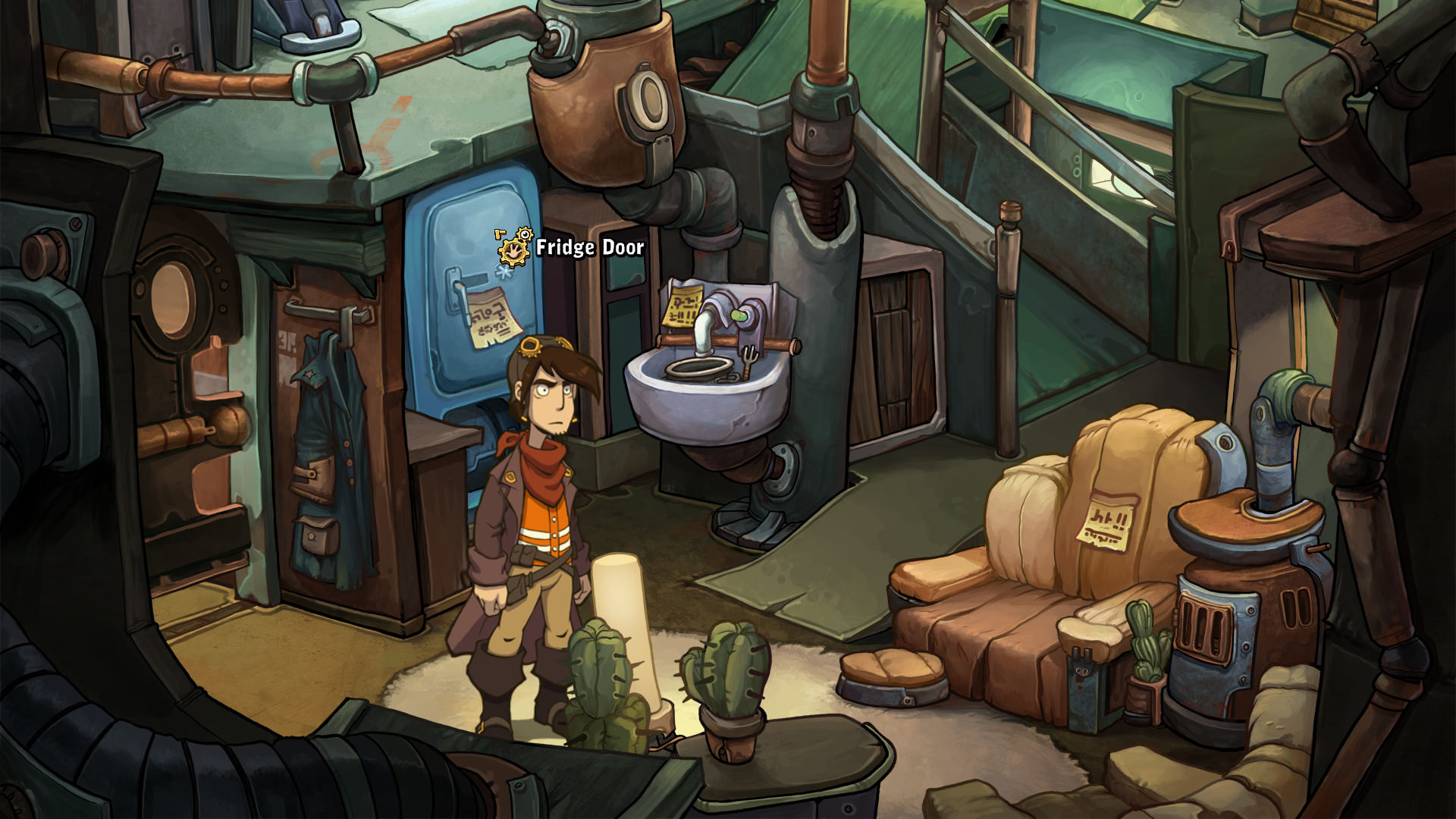 Deponia Windows Rufus In The Living Room - Inside Of A Mouse Hole , HD Wallpaper & Backgrounds