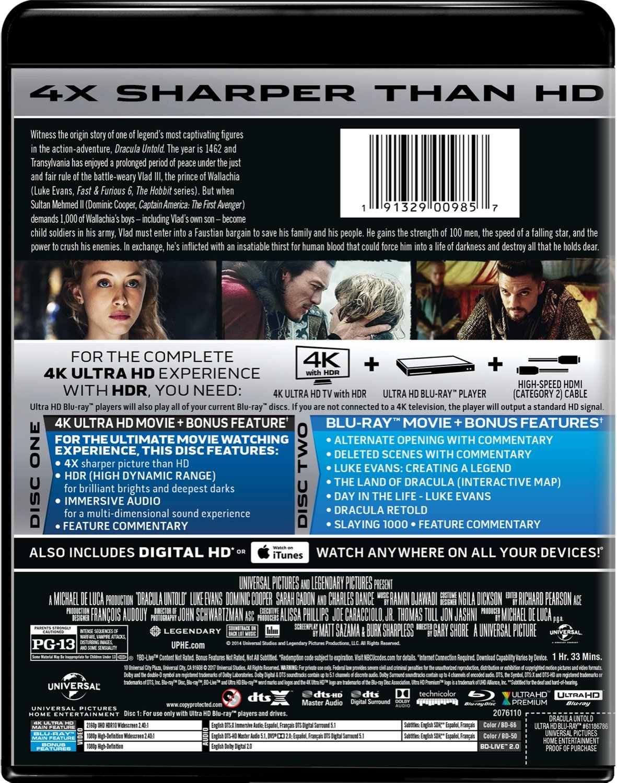 Dracula Untold Van Helsing Blu Ray 4k 1034879 Hd Wallpaper