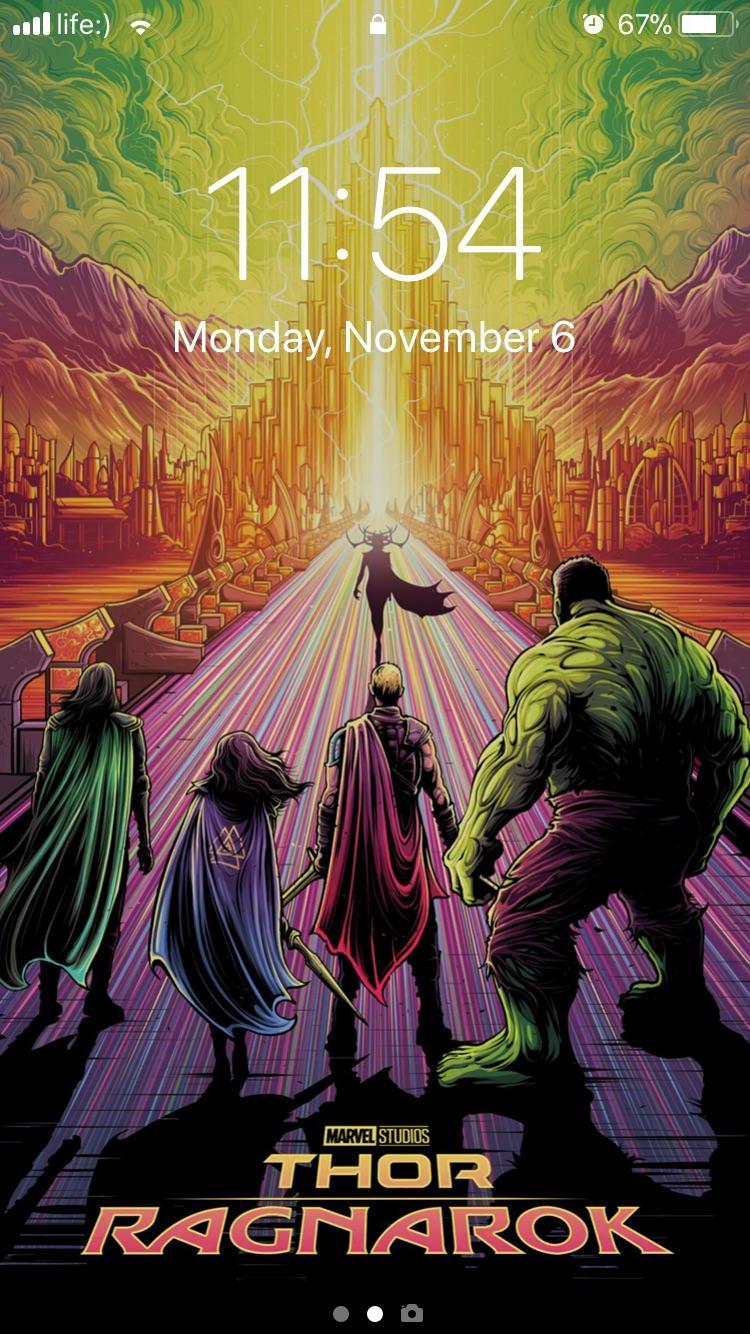 Marvelstudios Thor Ragnarok New Poster 1038003 Hd