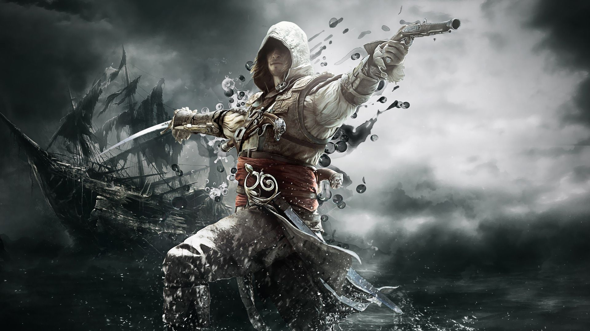 Edward Kenway Assassin S Creed Iv Black Flag Assassin S Creed 4 4k 1038992 Hd Wallpaper Backgrounds Download