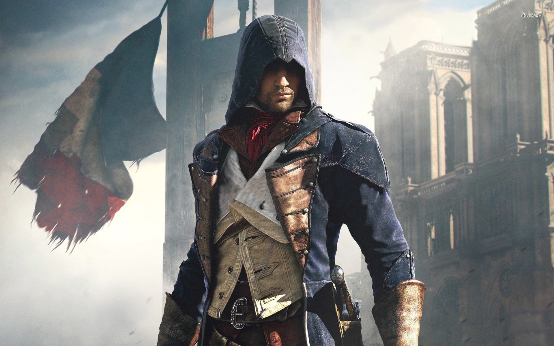 Assassin S Creed Unity With Edward Kenway Wallpaper Assassin S
