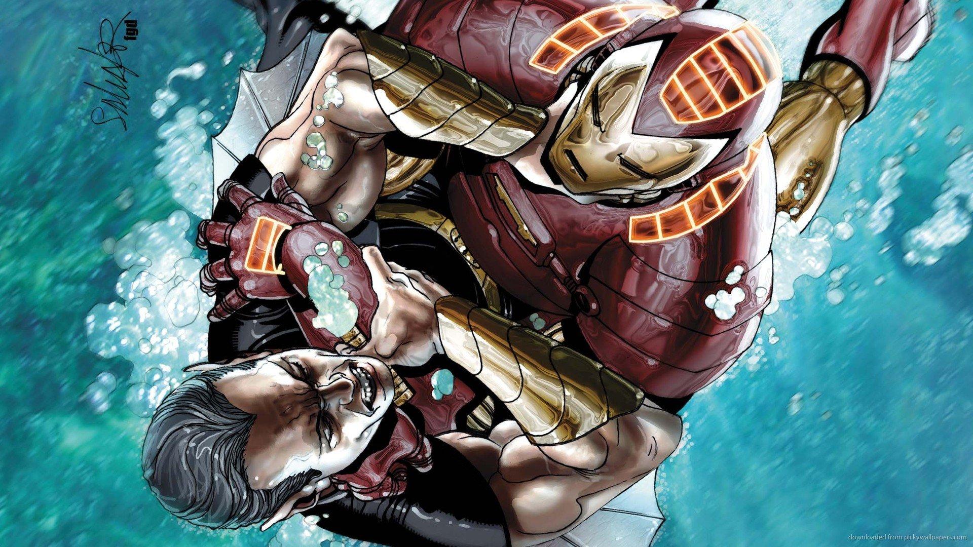 Invincible Wallpaper Underwater Iron Man Suit 1039500
