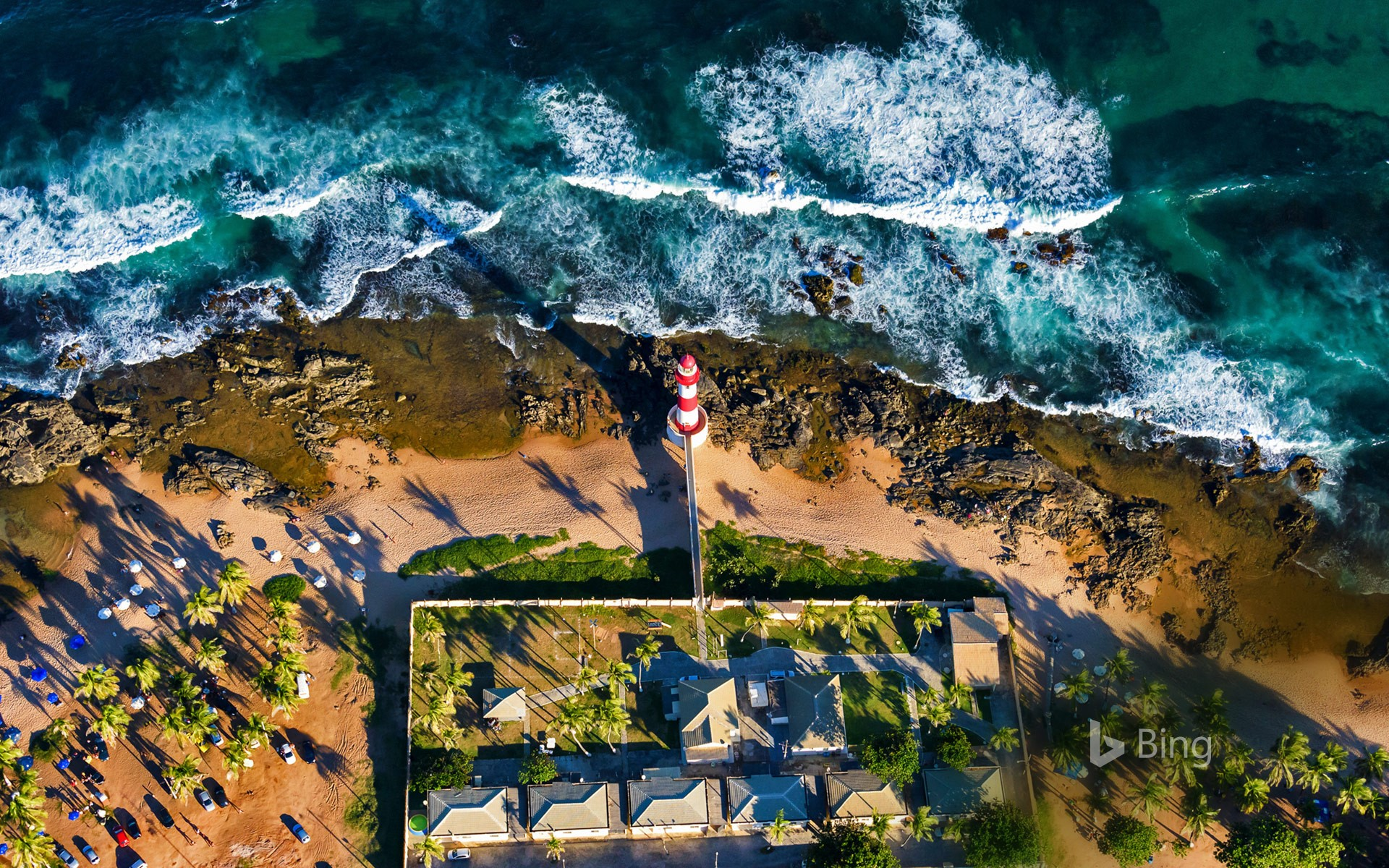 Itapuã Lighthouse In Salvador Bahia Brazil Salvador