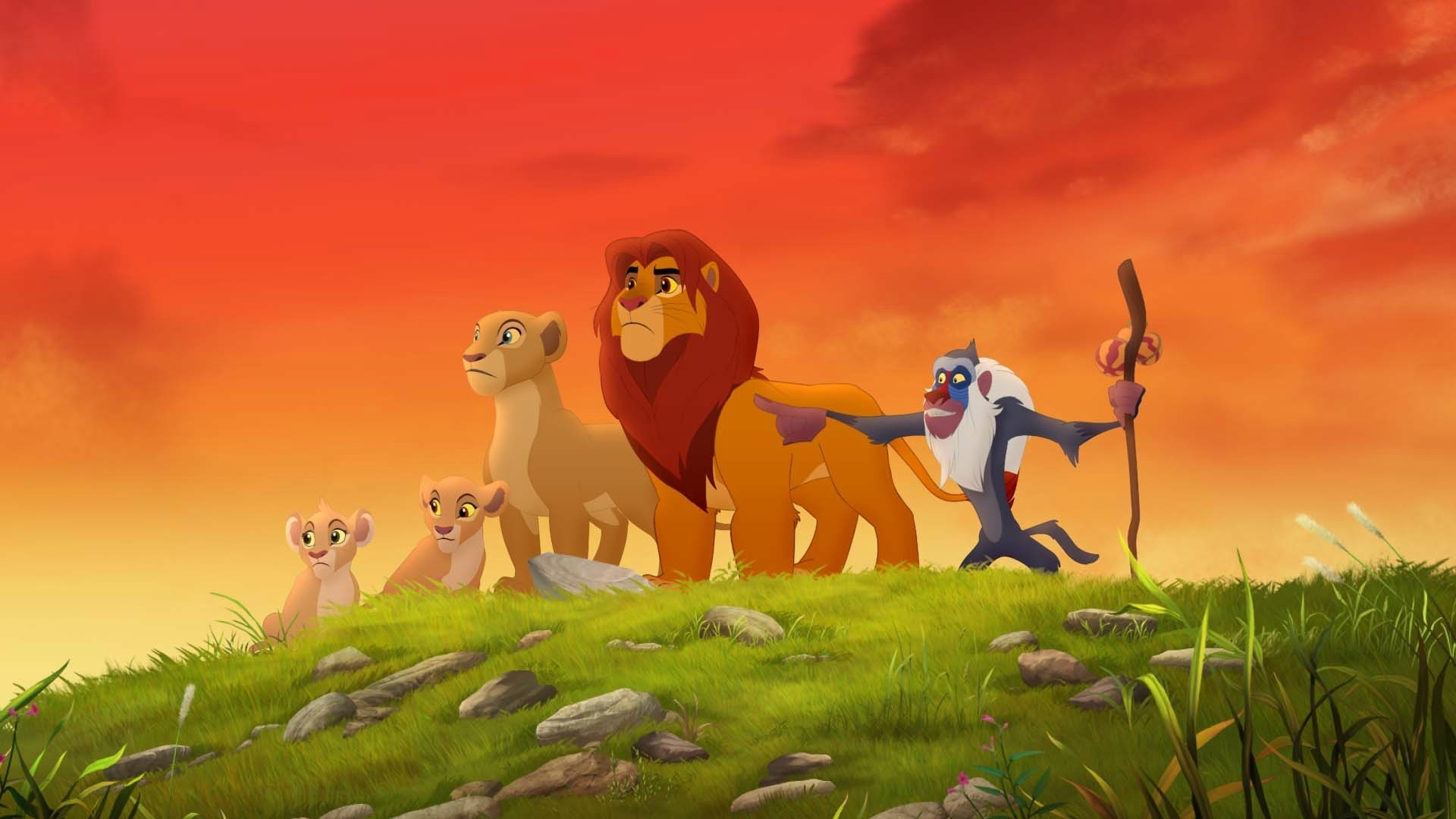The Lion Guard - Lion Guard Return Of The Roar Nala , HD Wallpaper & Backgrounds
