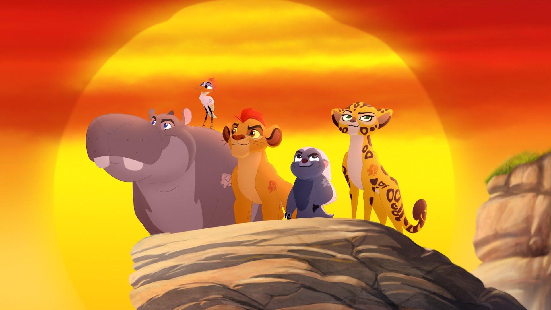 The Lion Guard Hình Nền Entitled The Lion Guard - Lion Guard , HD Wallpaper & Backgrounds