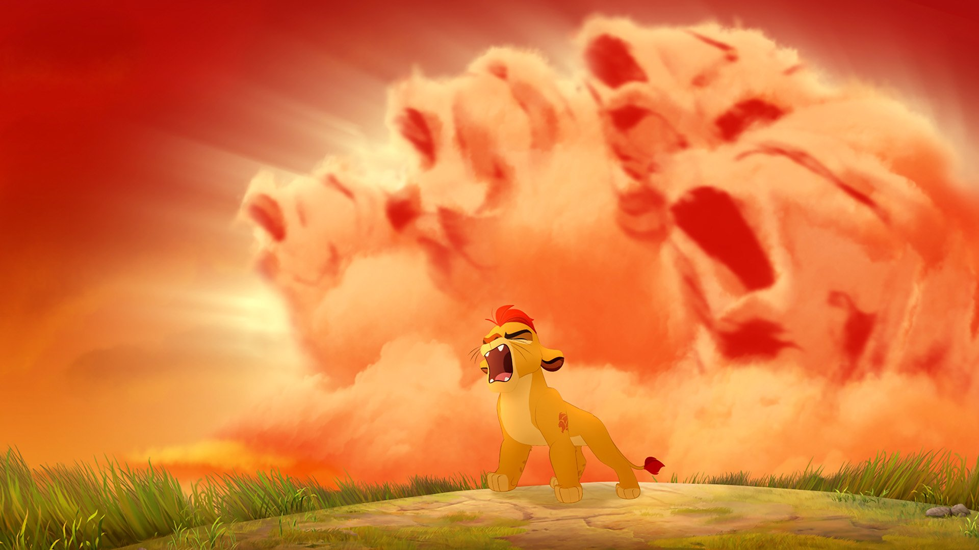 The Lion Guard - Lion Roar Of The Elders , HD Wallpaper & Backgrounds