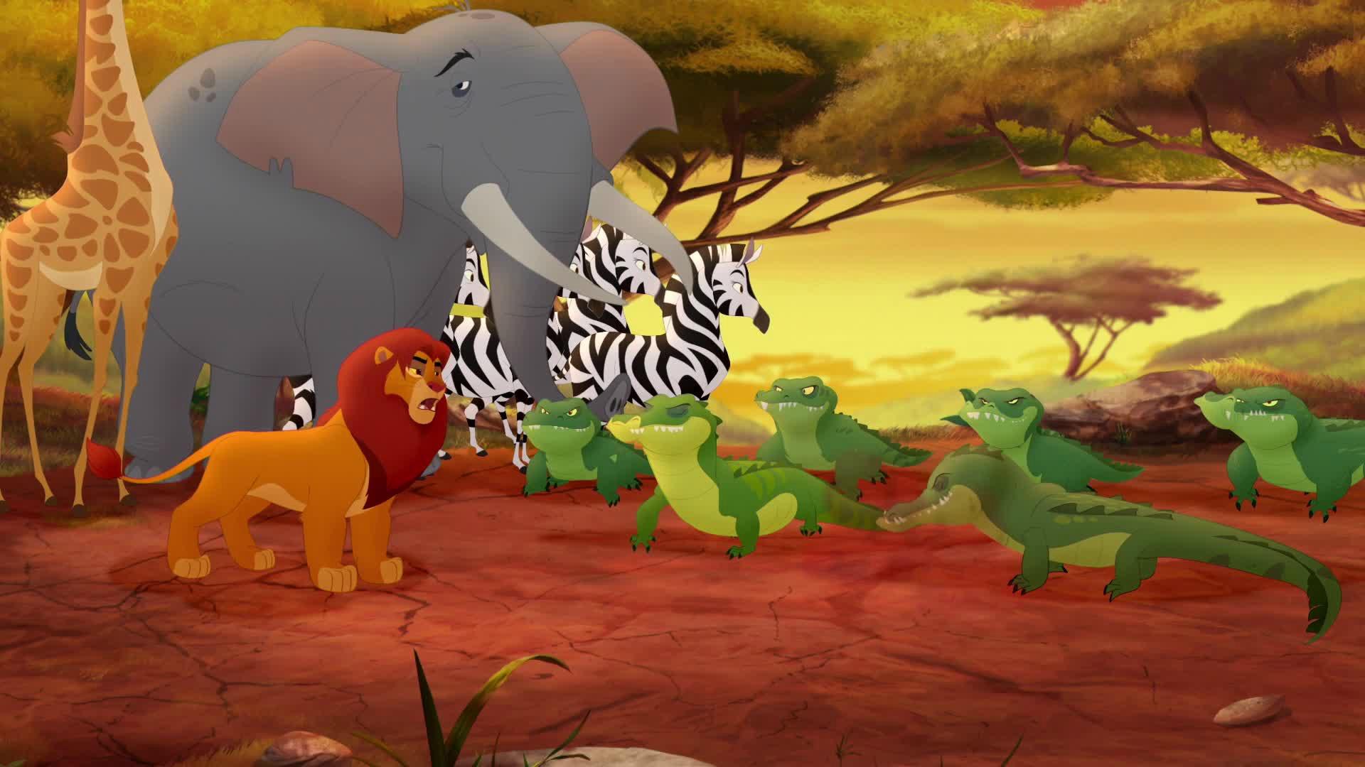 The Lion Guard Images The Lion Guard Hd Wallpaper And - Lion Guard 2 Giraffe Hd , HD Wallpaper & Backgrounds