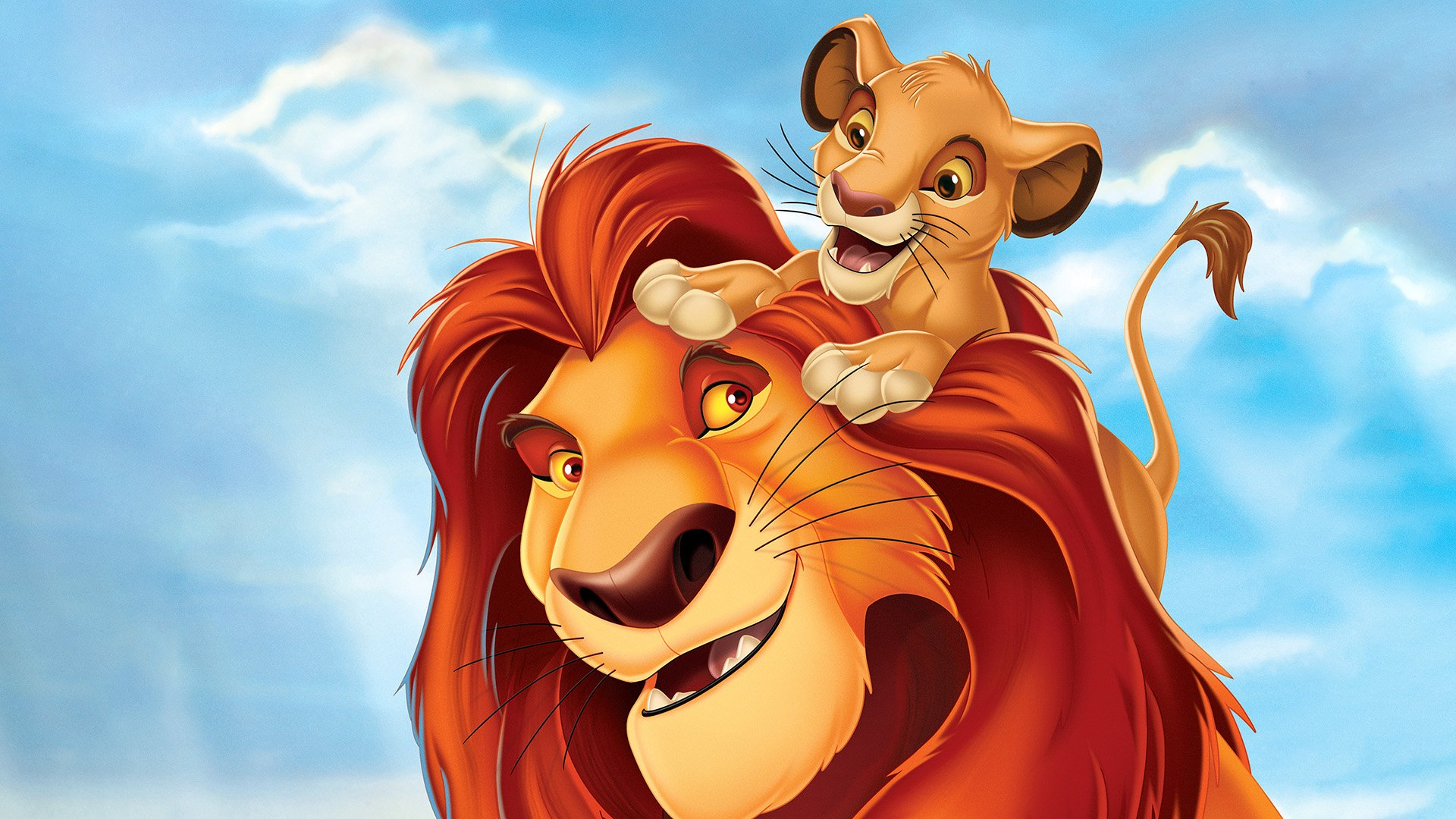 Lion King Mufasa Scar - König Der Löwen Simba Und Mufasa , HD Wallpaper & Backgrounds
