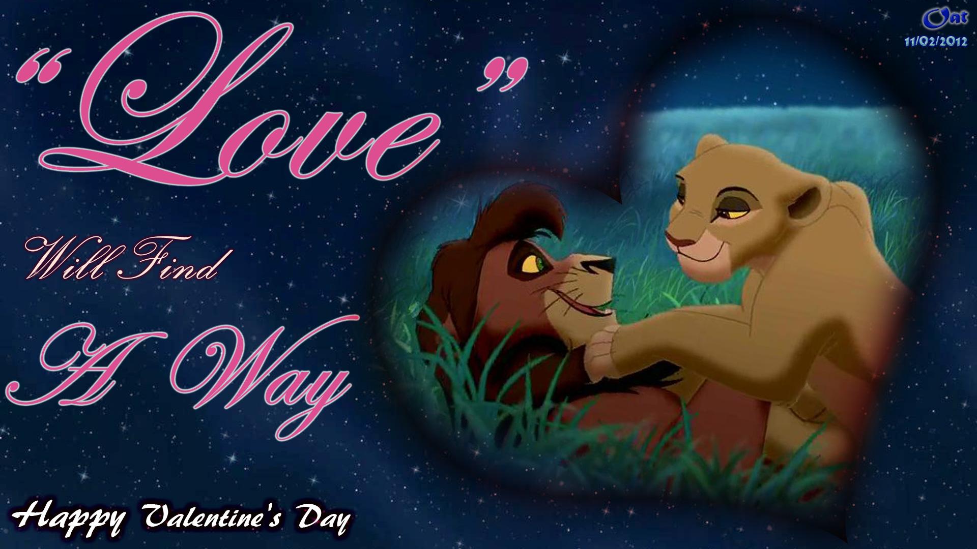 The Lion King 2 Kiara And Kovu Song - Adult Kovu And Kiara Valentine's Day , HD Wallpaper & Backgrounds