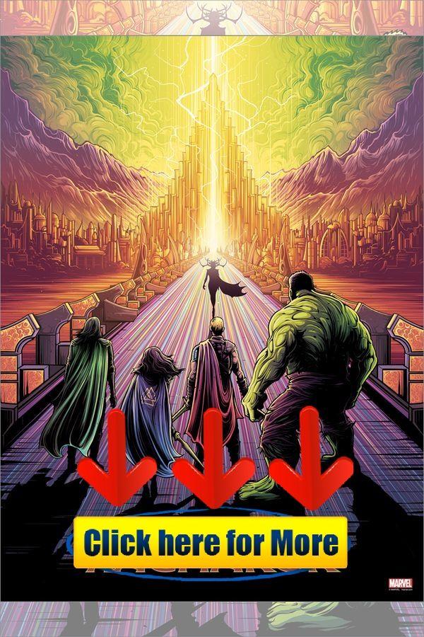 Ragnarok By Dan Mumford Thor Ragnarok New Poster