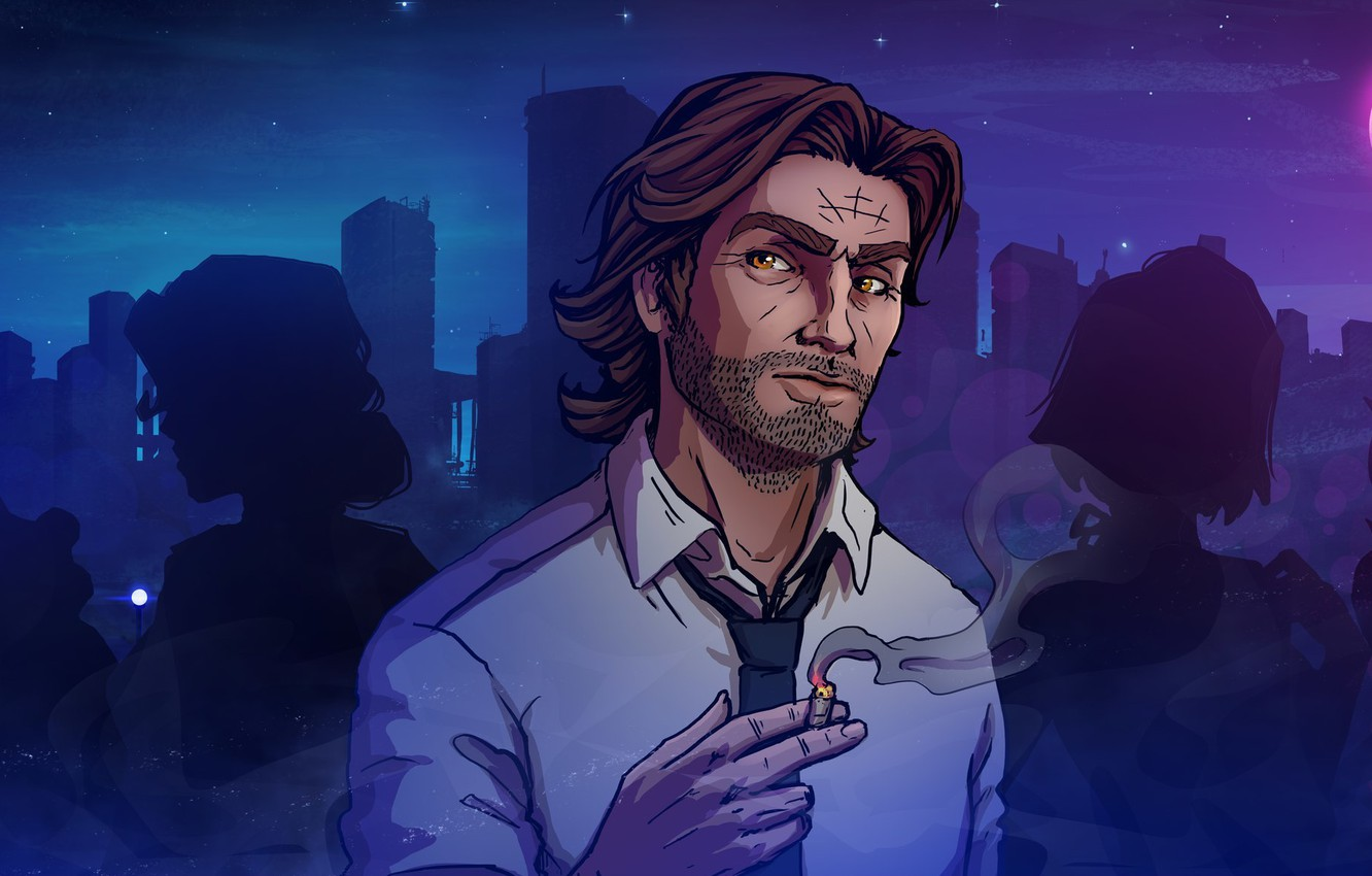 Photo Wallpaper Art, Katrin, Lily, Snow White, The - Wolf Among Us Art , HD Wallpaper & Backgrounds