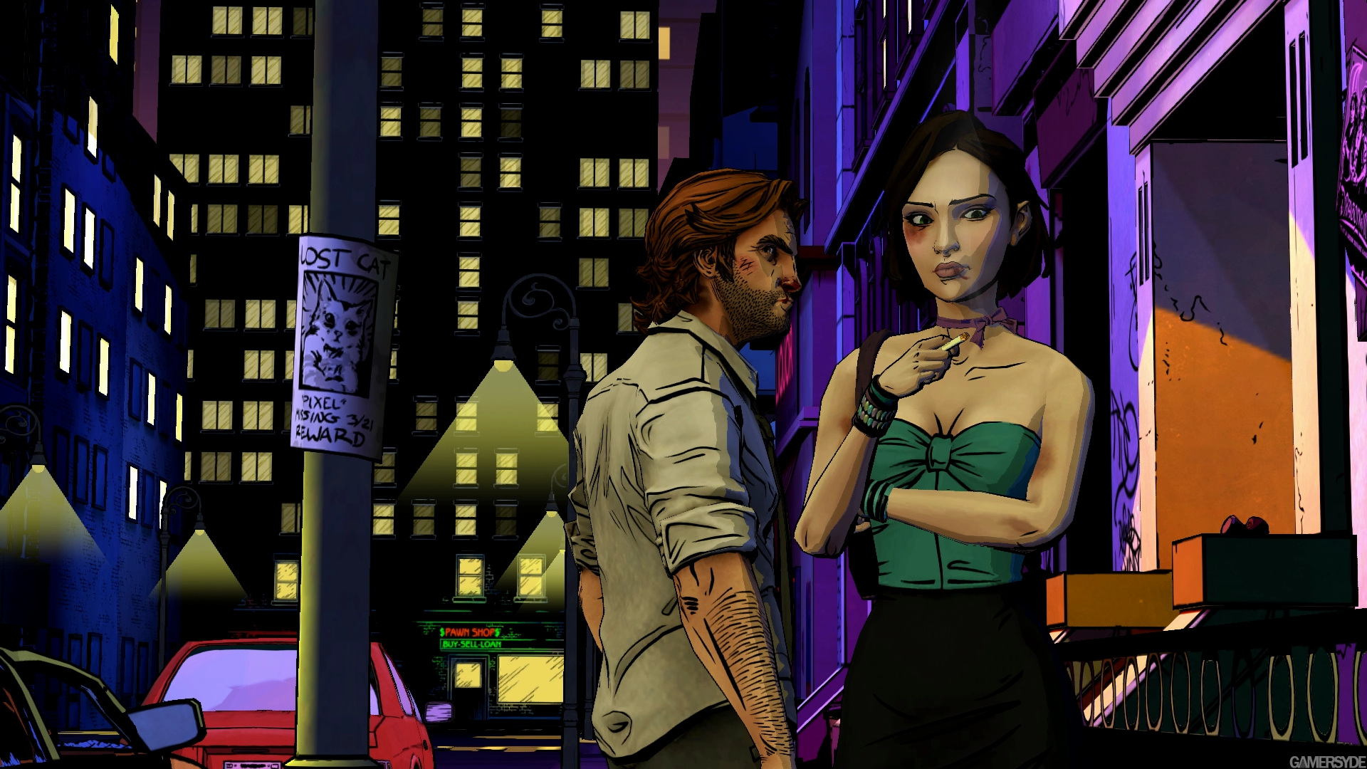 Image The Wolf Among Us 23455 2690 - Wolf Among Us Art Style , HD Wallpaper & Backgrounds