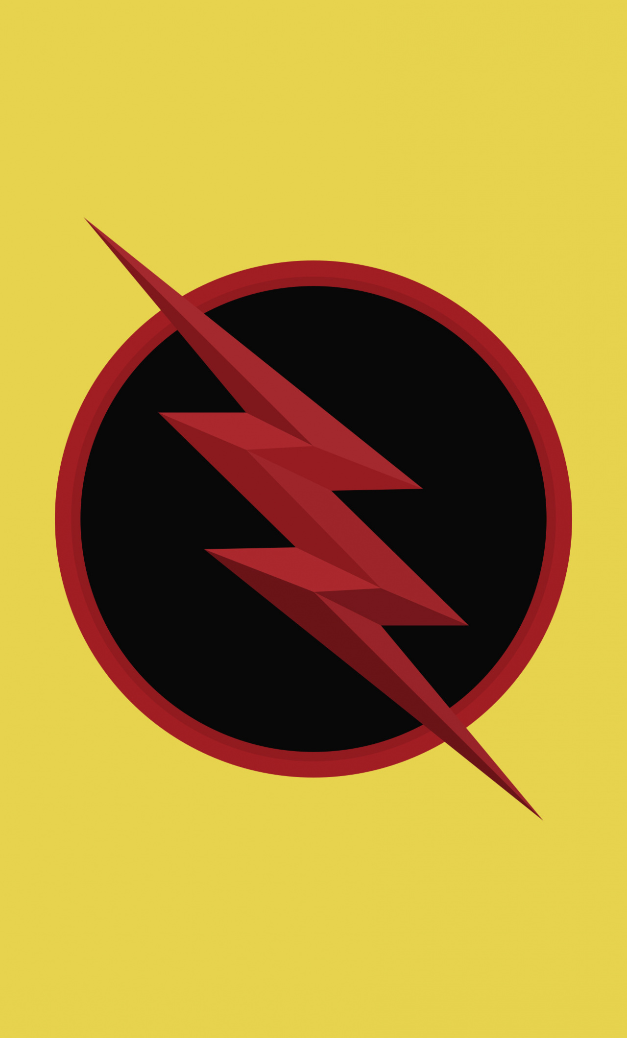 Reverse Flash Logo Dc Comics Minimal Wallpaper Reverse Flash