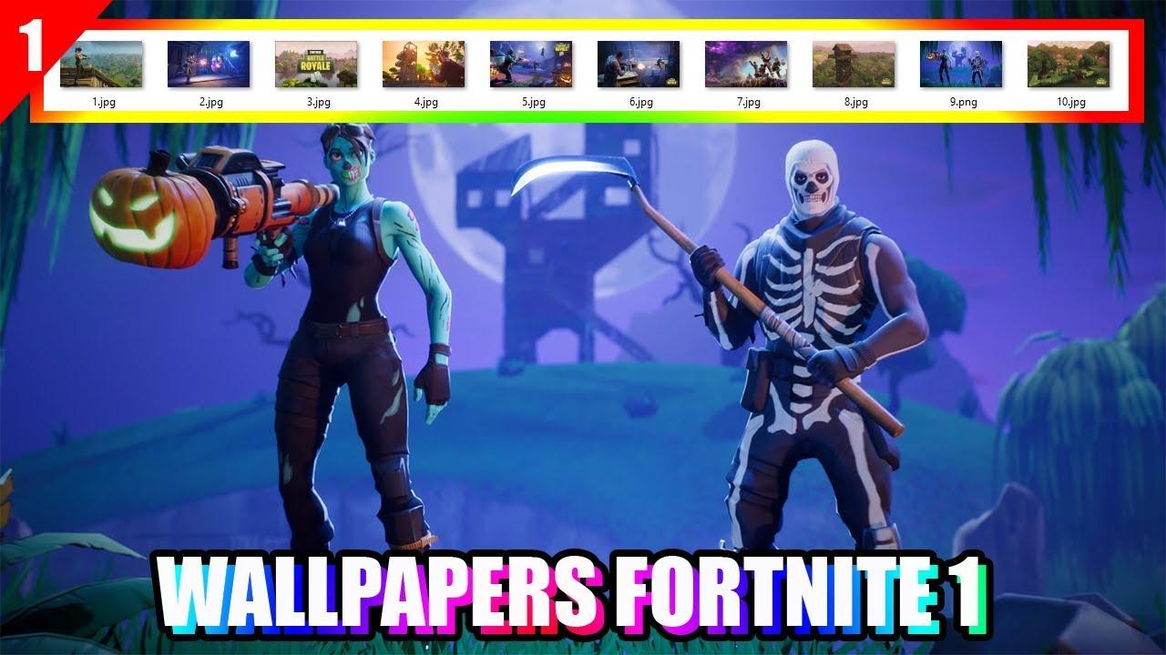 Pack Wallpapers Fortnite - Fortnite Skull Trooper En Ghoul Trooper , HD Wallpaper & Backgrounds