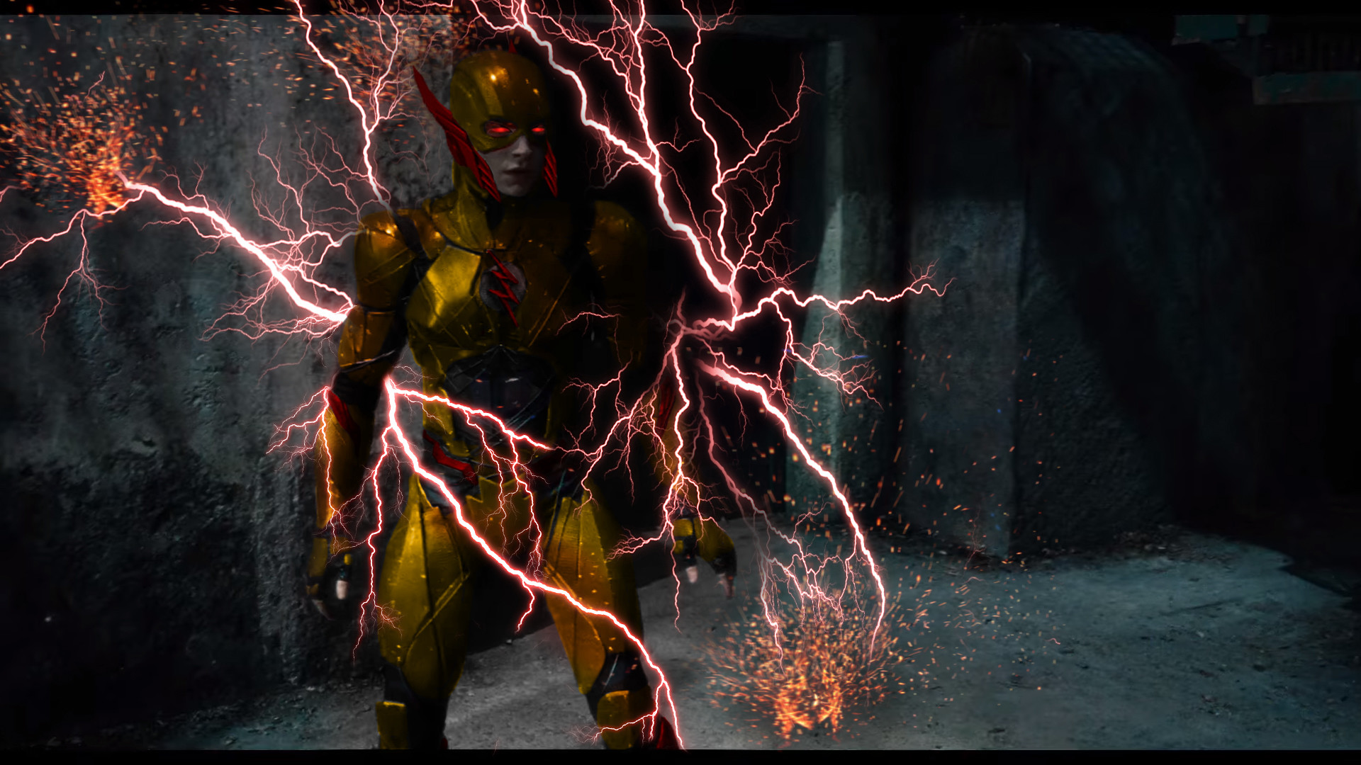 Reverse Flash Phone Wallpaper Reverse Flash Ezra Miller
