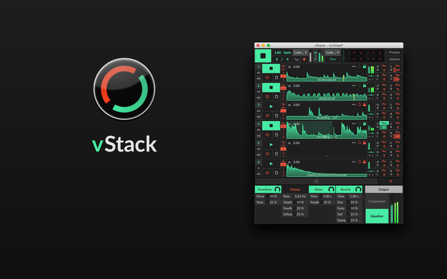 Vstack Is A Looper Application Build 100% With Max - Evony Ads , HD Wallpaper & Backgrounds
