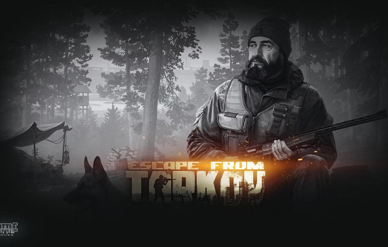 Photo Wallpaper Huntsman Escape From Tarkov Dealer