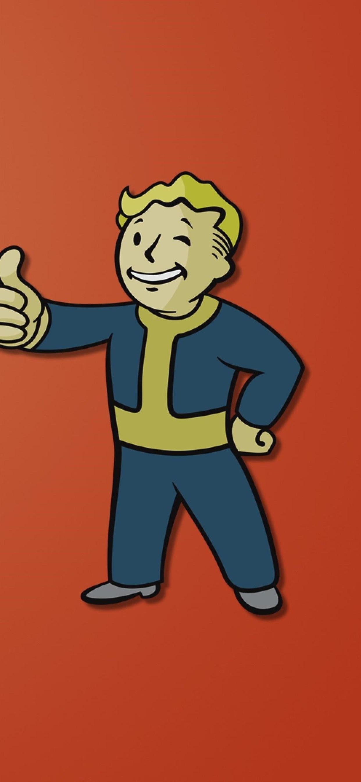 Fallout Boy Minimalism - Fallout 4 Steam Grid , HD Wallpaper & Backgrounds