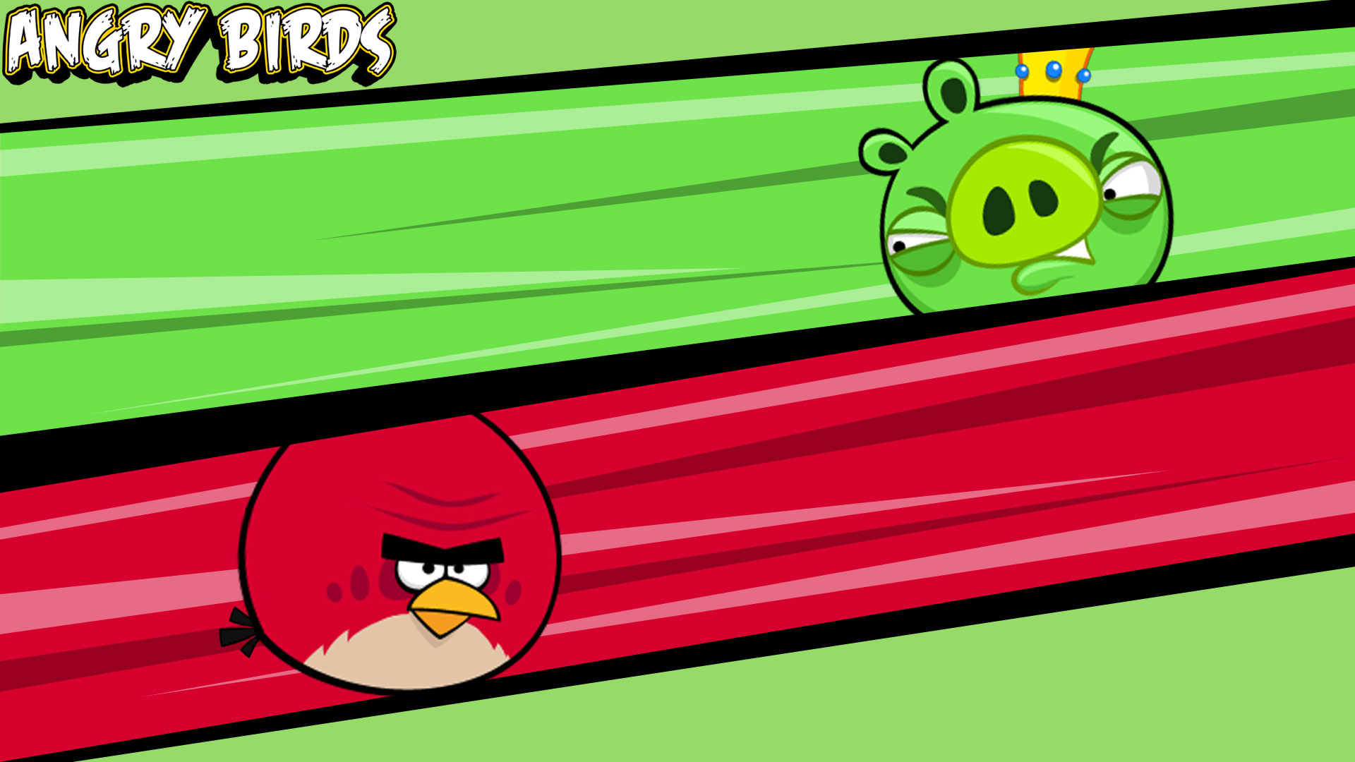 Big Brother Bird Vs King Pig - Angry Birds Red Pig , HD Wallpaper & Backgrounds