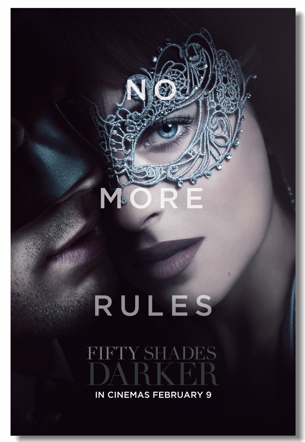 Custom Canvas Wall Mural Fifty Shades Darker Poster Fifty