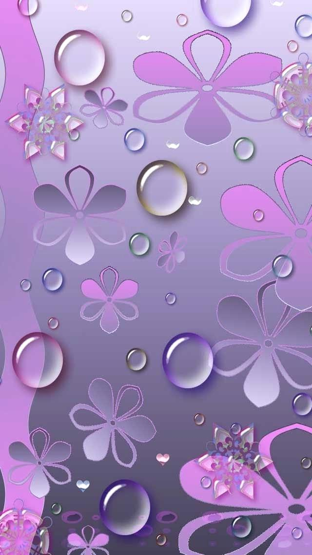Pink Cute Purple Wallpaper For Android 1054402 Hd