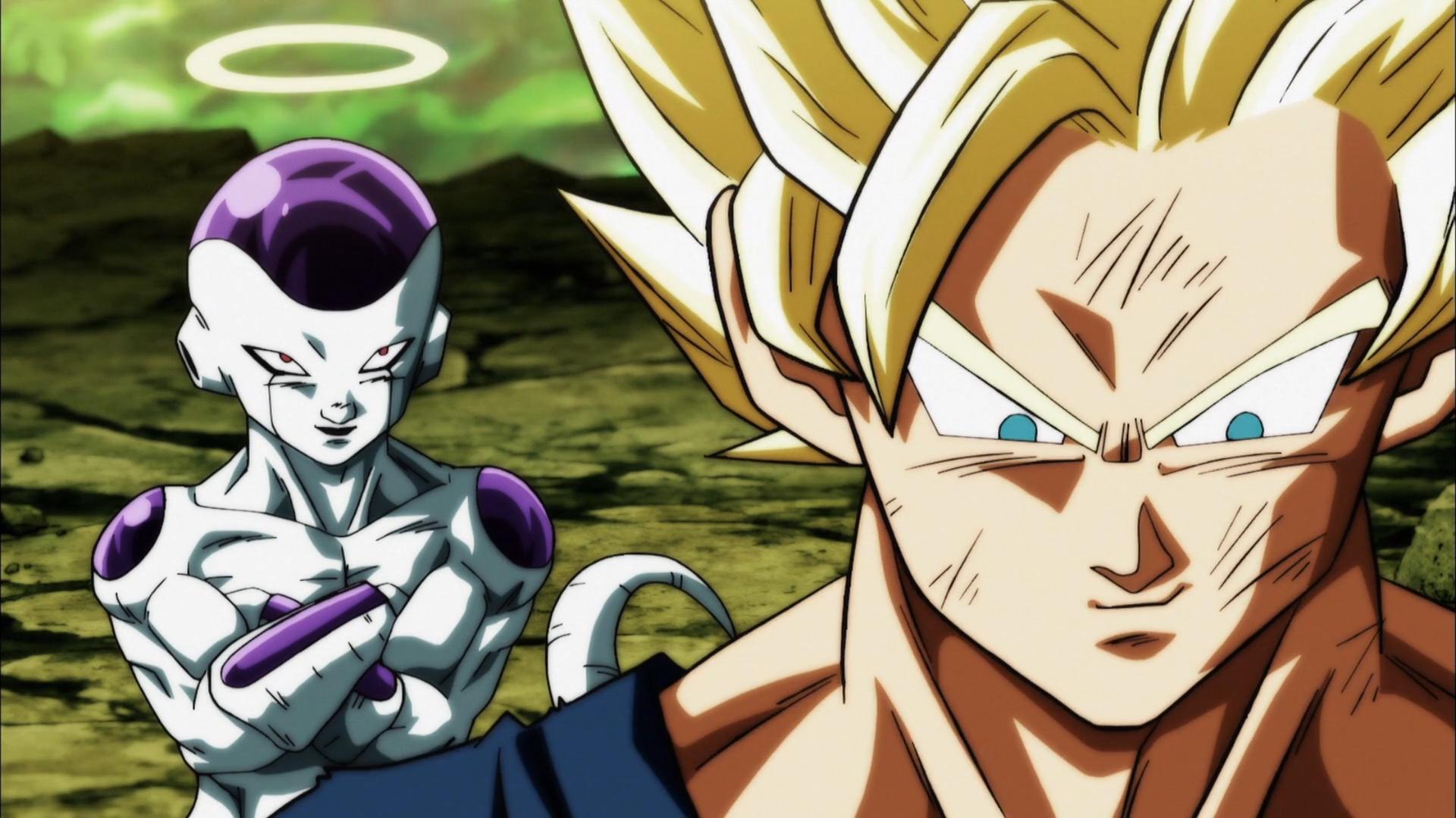 Son Goku And Freezer Goku Ssj2 Vs Kale And Caulifla 1058232