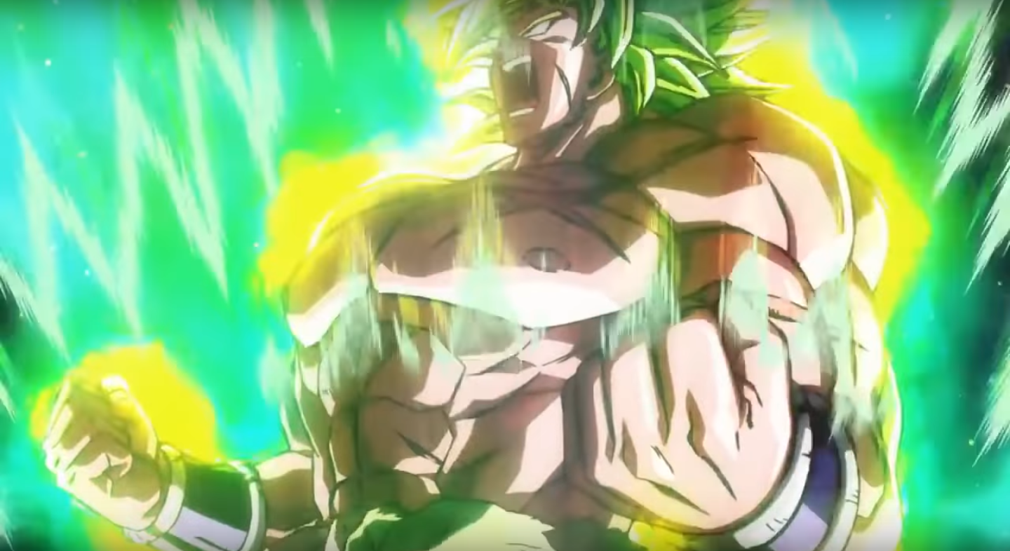 Dragon Ball Super Broly Movie Images Dragon Ball Super