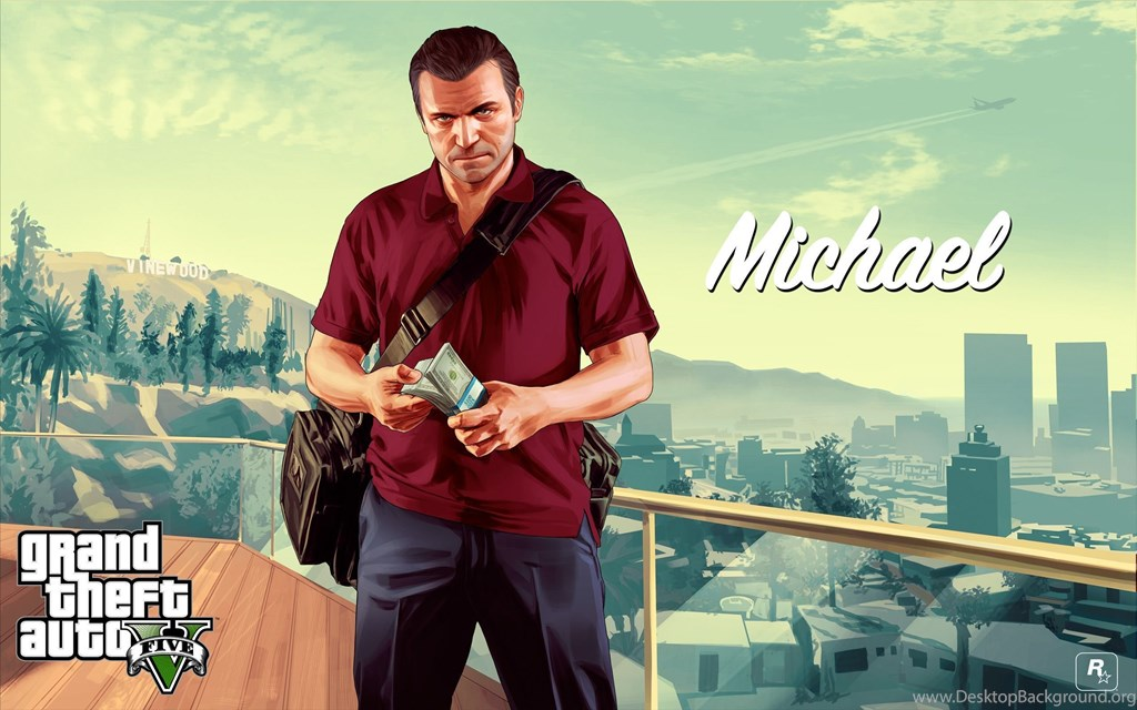 I Made A Glorious Gaben Gta 5 Wallpapers For All Of - Michael In Gta 5 , HD Wallpaper & Backgrounds