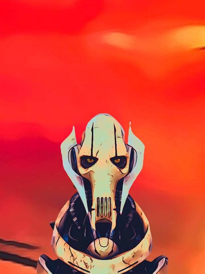 Here S Even More Of My Custom Wallpaper General Grievous Star Wars Grievous Wallpaper Iphone 1061452 Hd Wallpaper Backgrounds Download