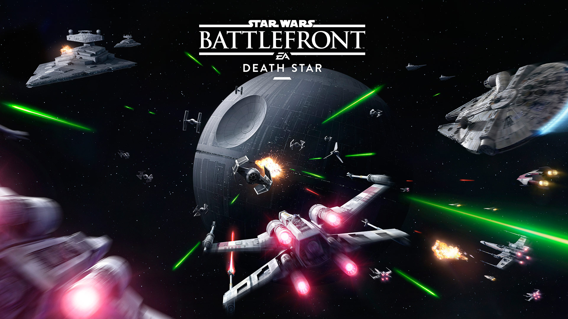 There Was Big News At Star Wars Celebration Europe - Battlefront Death Star Dlc , HD Wallpaper & Backgrounds