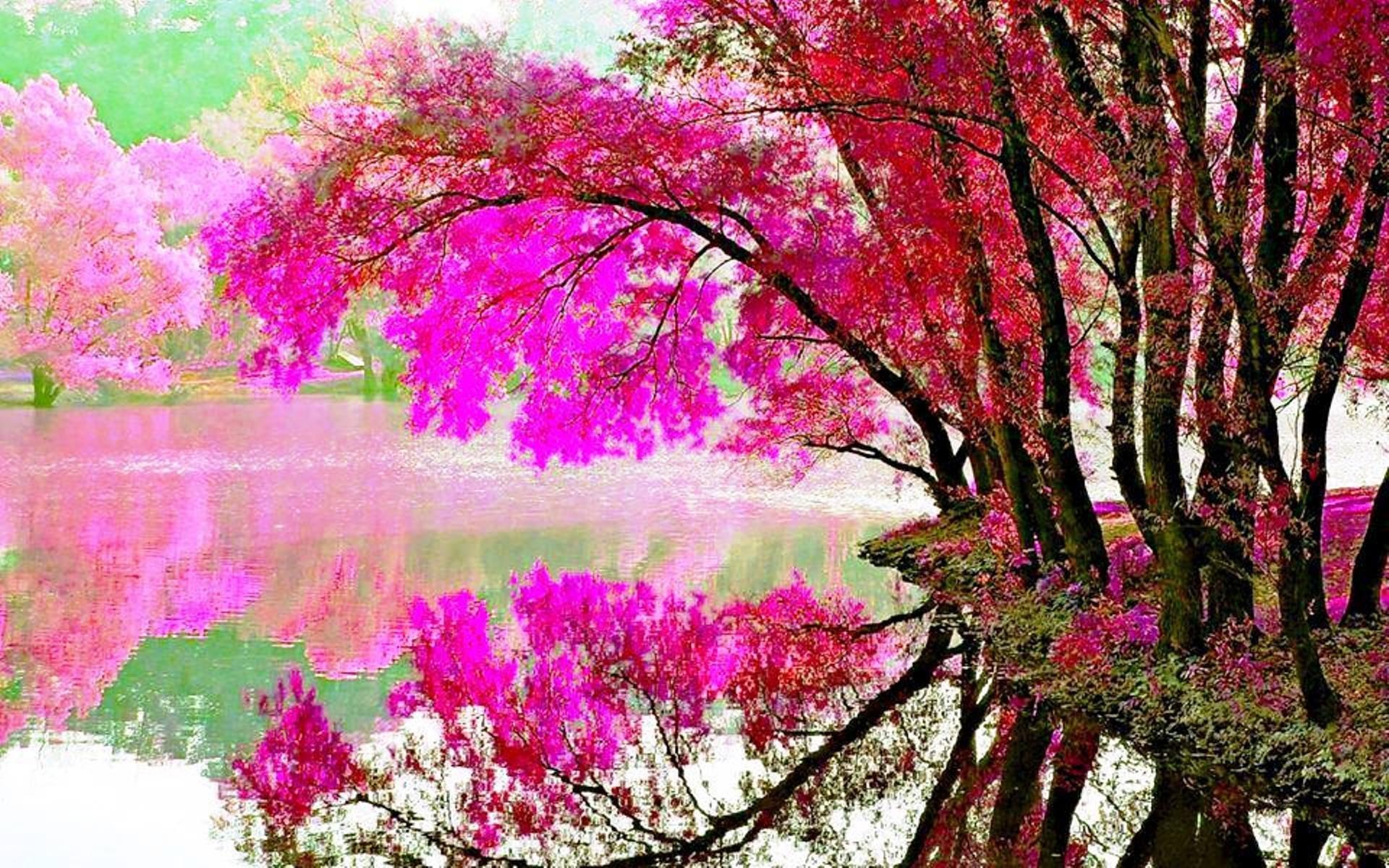 Download Full Resolution - Spring Spring Lake Wallpaper For Desktop , HD Wallpaper & Backgrounds