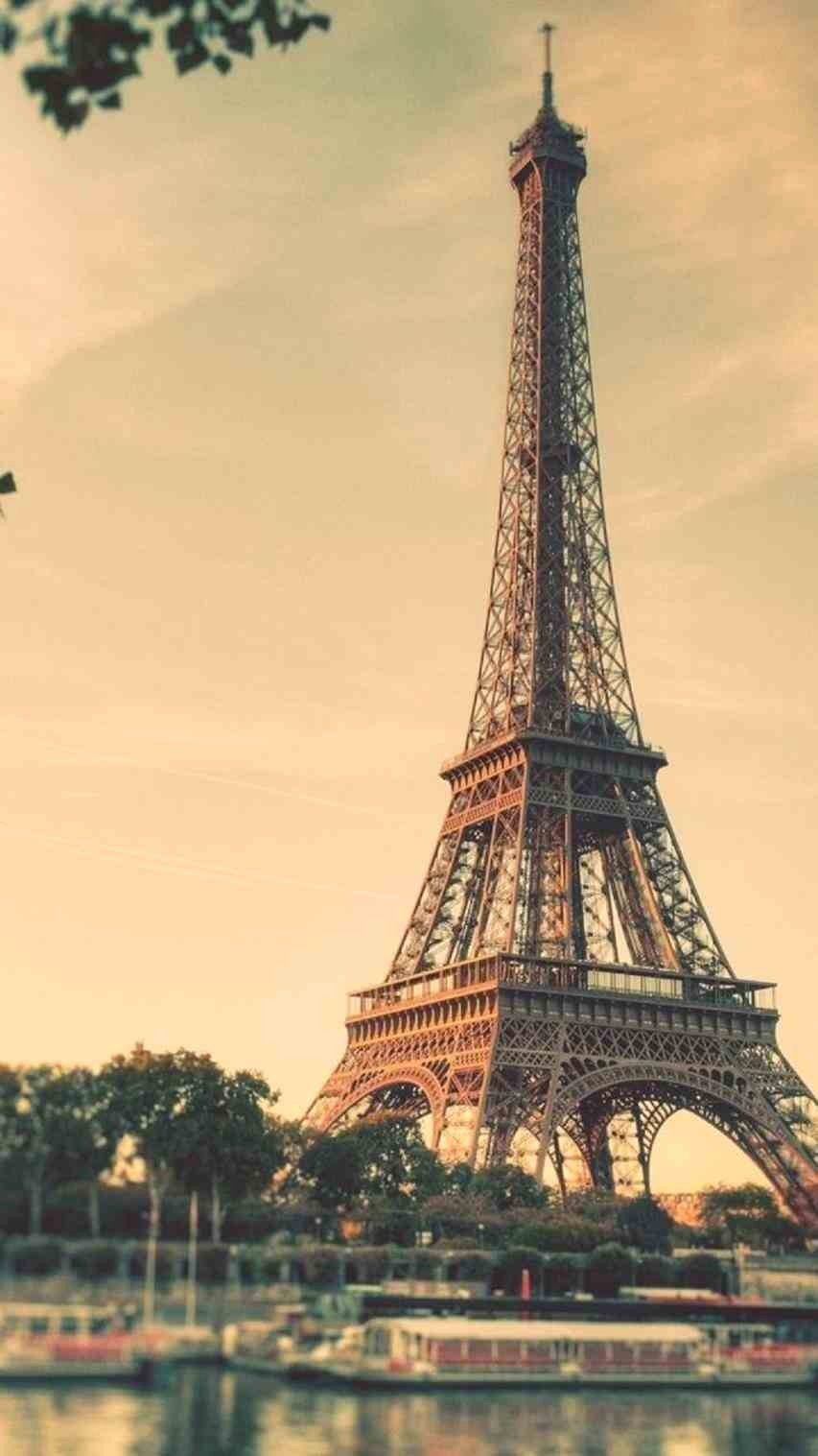 Shabby Paris Wallpaper Tumblr Iphone Vintage Romantic