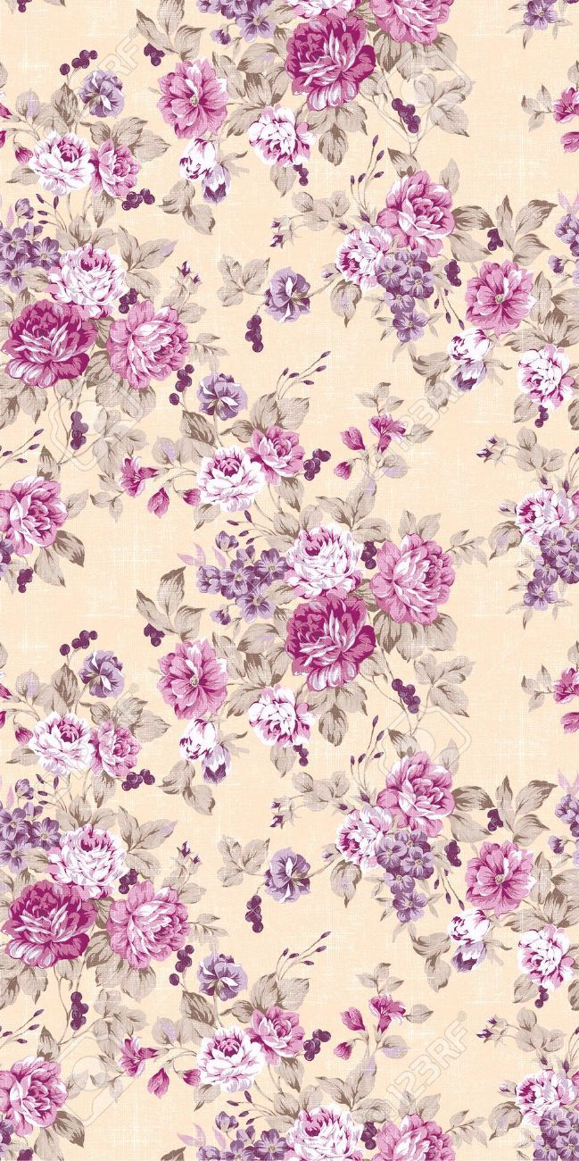 High Quality Live Vintage Flower Backgrounds Floral Background