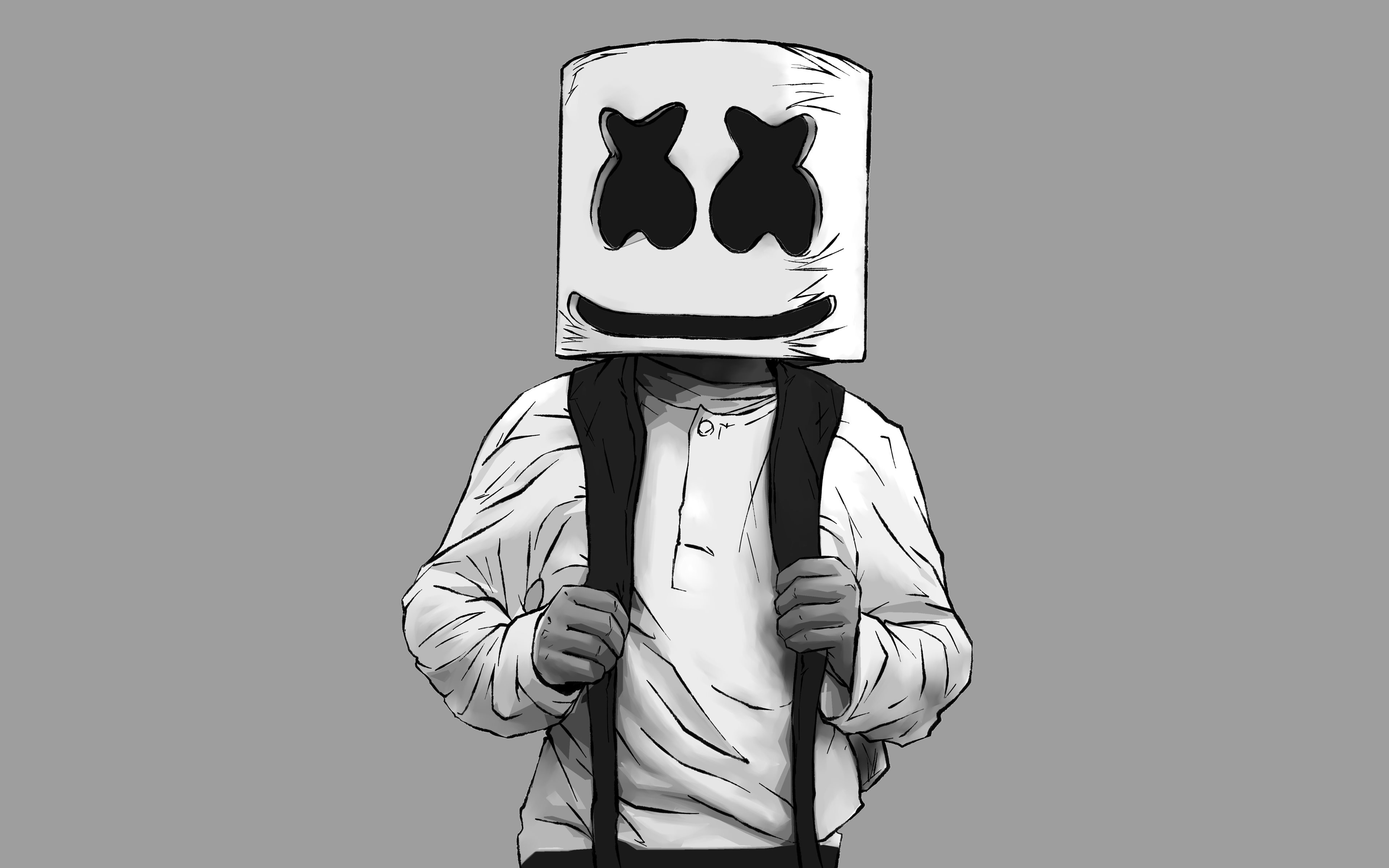 Wallpaper Marshmallow Dj Find Hd Wallpapers For Free Marshmello Fortnite Wallpaper Hd 1065979 Hd Wallpaper Backgrounds Download