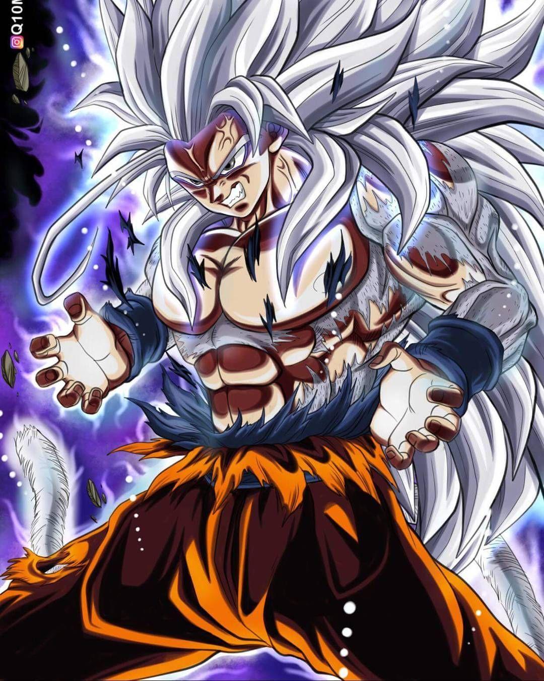Résultat De Recherche Dimages Goku Ssj5 Ultra Instinct