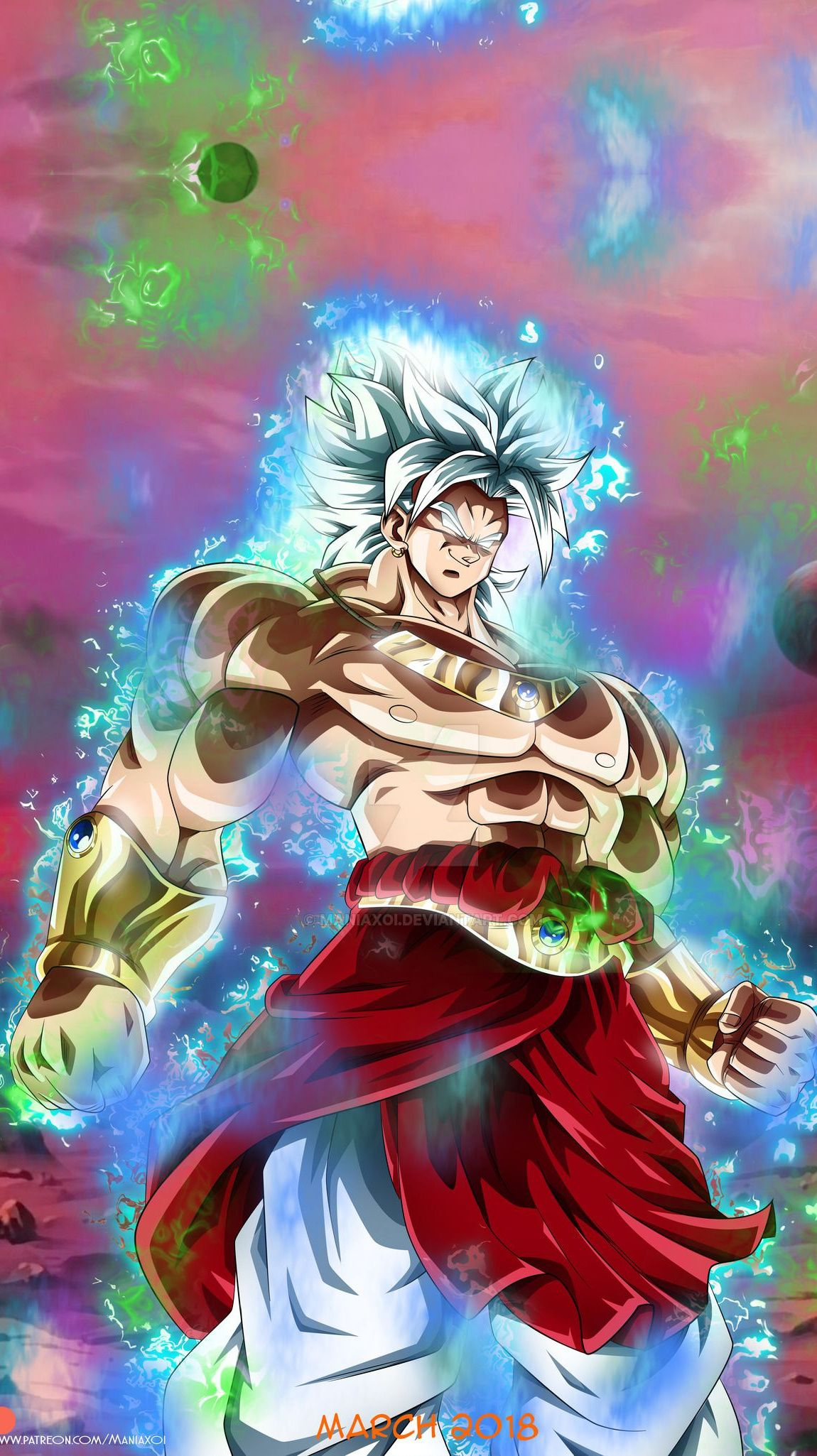 Broly Ultra Instinct 1150x2050 Live Wallpaper In Live