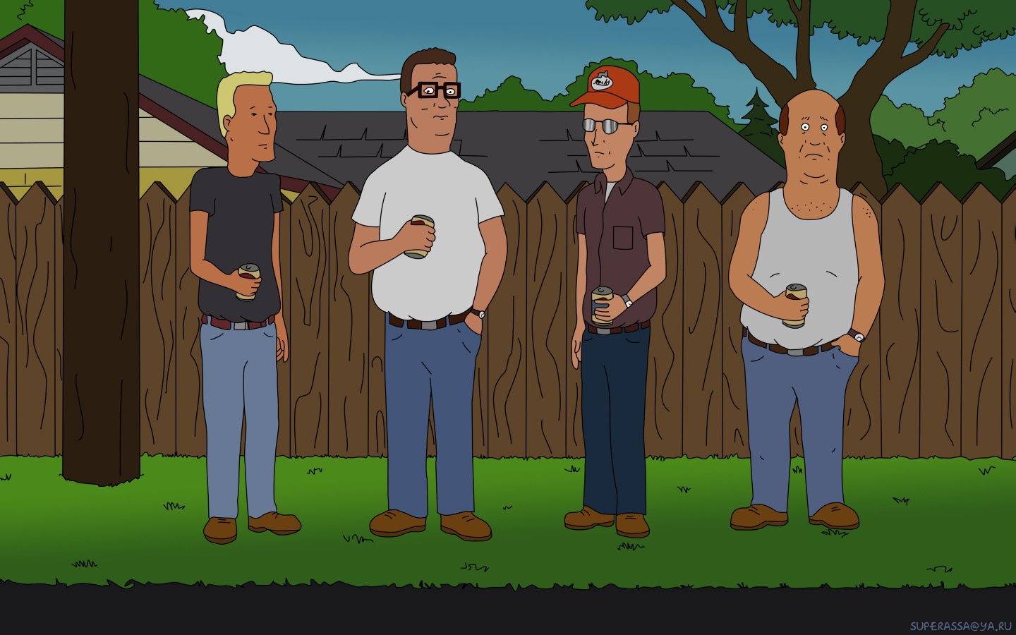 Wallpaper From Russian Funs Yup King Of The Hill 1070524