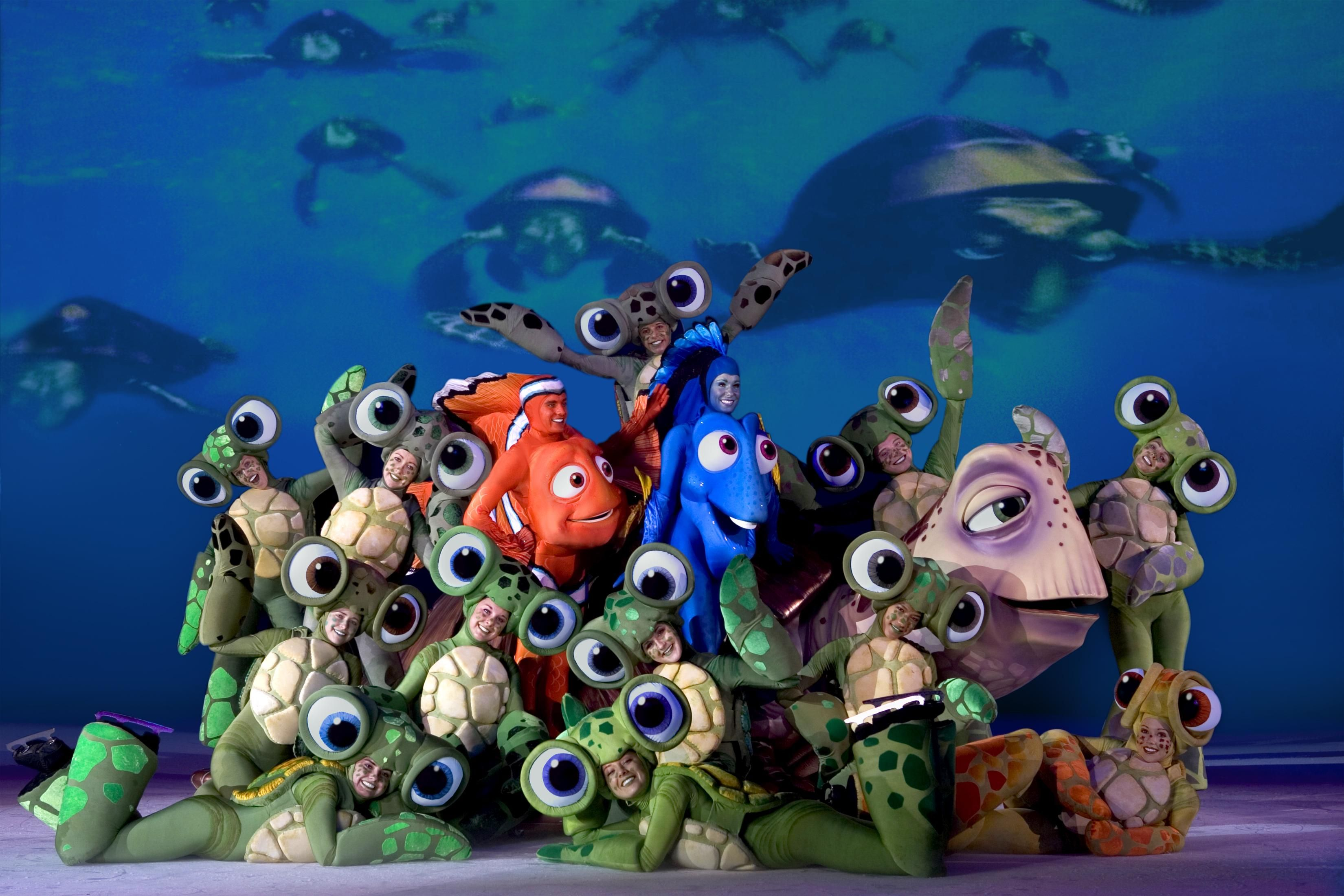 Finding Nemo Hd Wallpapers Finding Nemo On Ice 1071185 Hd Wallpaper Backgrounds Download