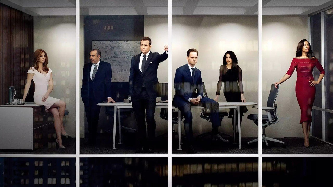 Wall Poster Tv Show Suits On Fine Art Paper Hd Quality - Season 6 Suits Cast , HD Wallpaper & Backgrounds