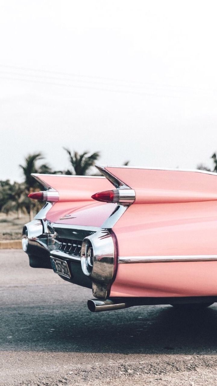 Oldies Pink Car Retro Aesthetic Wallpaper Iphone 1072676 Hd Wallpaper Backgrounds Download