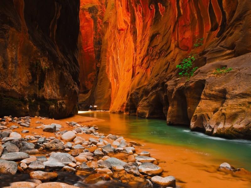 Zion National Park Utah Amazing Wallpaper Parque Nacional