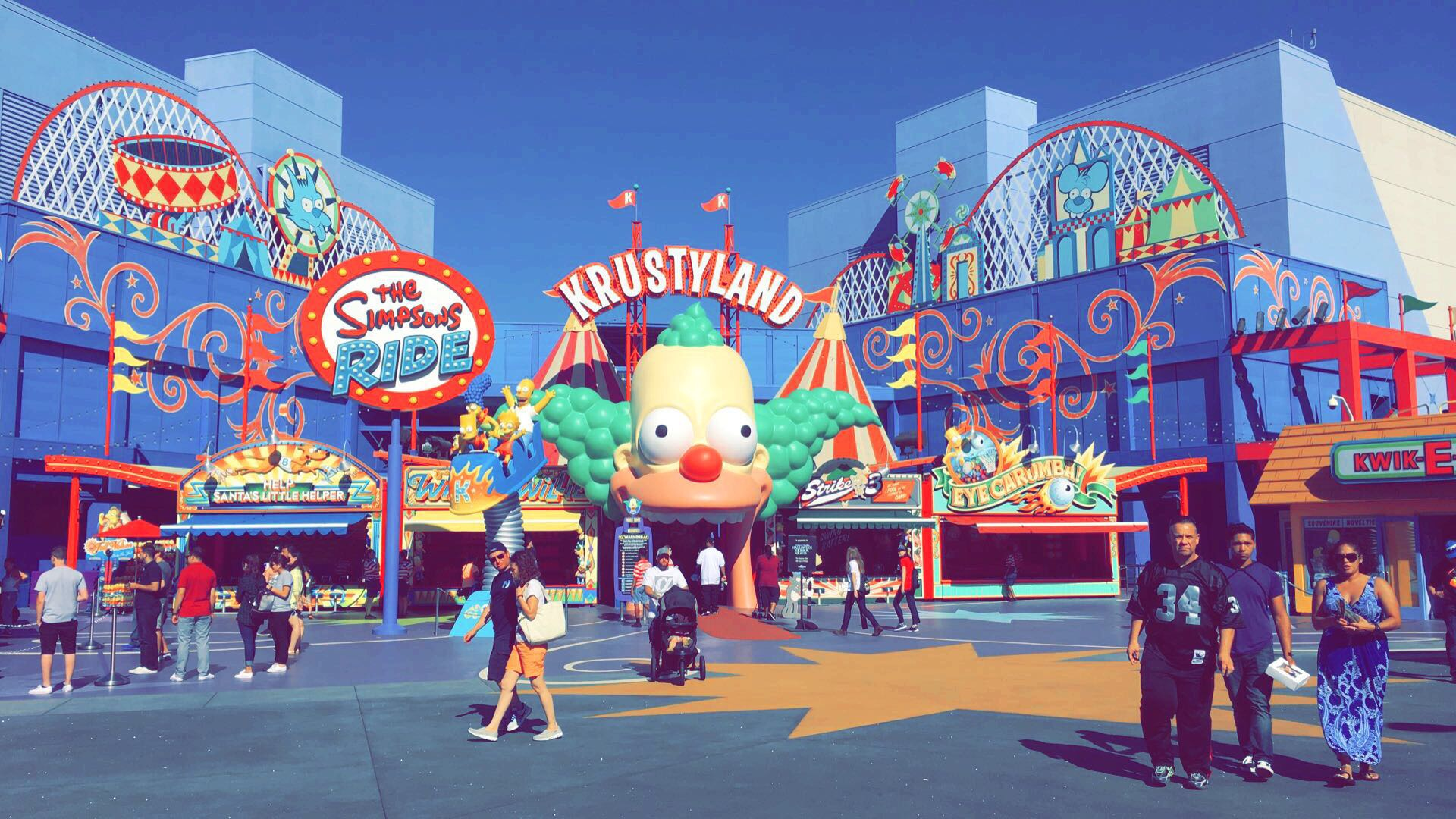 Best Movie La La Land Wallpaper Hd - Universal Studios Hollywood, The Simpsons Ride , HD Wallpaper & Backgrounds