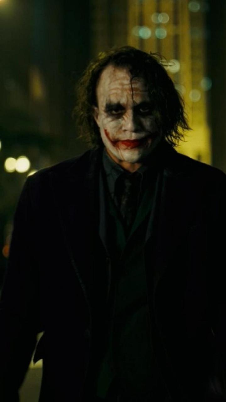 Heath Ledger Wallpaper - Heath Ledger Joker Hd Wallpaper For Mobile , HD Wallpaper & Backgrounds