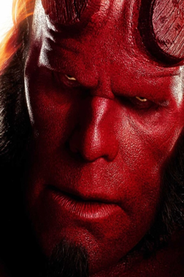 Hellboy 2 Iphone Wallpaper Download Movie With Red Devil
