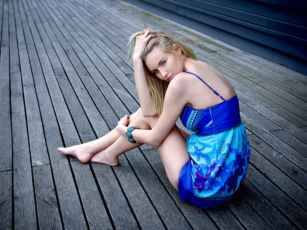 Beautiful Girl Portrait Photography , Women Portrait - Girl Blonde , HD Wallpaper & Backgrounds