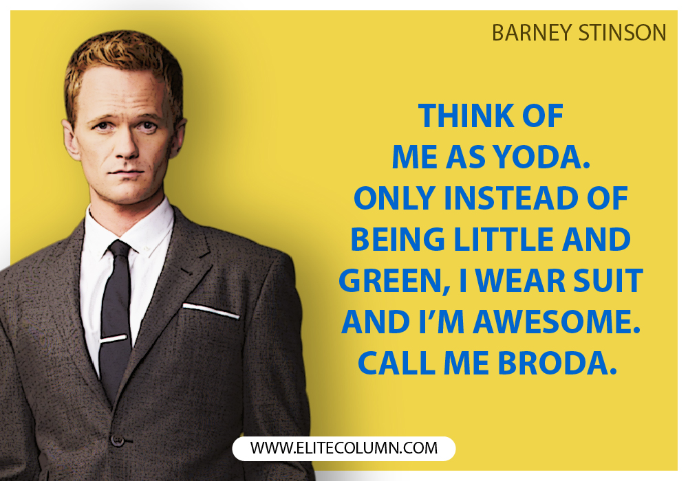 Barney Stinson Quotes Page - Quote Barney How I Met Your Mother , HD Wallpaper & Backgrounds